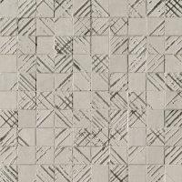 Bloom Metal Grey Silver Mosaico 30,5x30,5