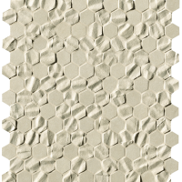 Bloom Beige Star Esagono Mosaico 29,5x32,5