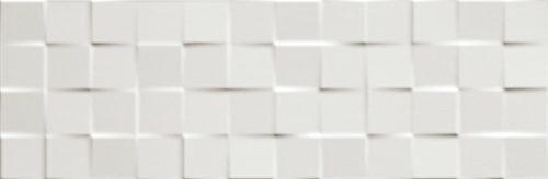 Lumina Square White Gloss 25x75