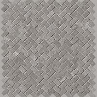 Maku Grey Gres Mosaico Anticato Spina Matt 30x30