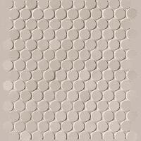 Milano & Floor Beige Round Mosaico Matt 29,5x32,5