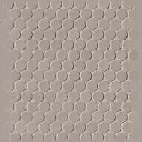 Milano & Floor Tortora Round Mosaico Matt 29,5x32,5