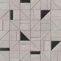 Nux Grey Outline Mosaico 30x30