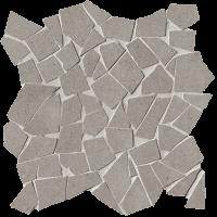 Nux Taupe Schegge Mosaico Anticato 30x30